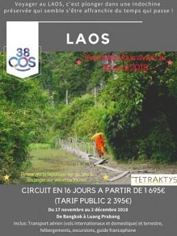 Affiche Laos 2018