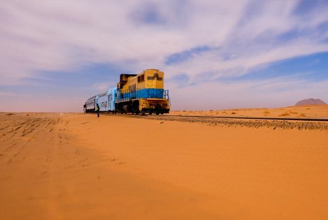 @FannieDupé : Mauritanie le Train du désert