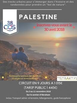 Affiche Palestine 2018